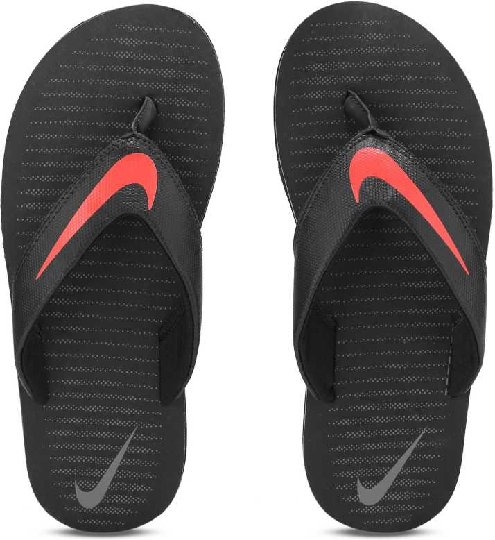 9e3e30c1d Nike CHROMA THONG 5 Slippers - Buy BLACK   LT CRIMSON - COOL GREY Color Nike  CHROMA THONG 5 Slippers Online at Best Price - Shop Online for Footwears in  ...