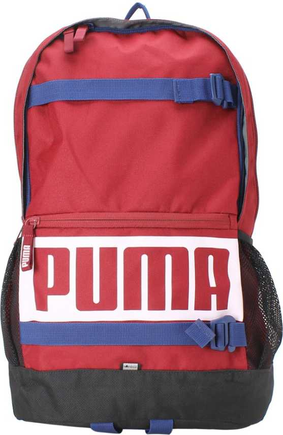 999d078f79 Puma Deck 24 L Laptop Backpack Tibetan Red - Price in India ...