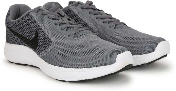 11e72592b99 Nike REVOLUTION 3 Running Shoes For Men - Buy COOL GREY BLACK-WHITE ...