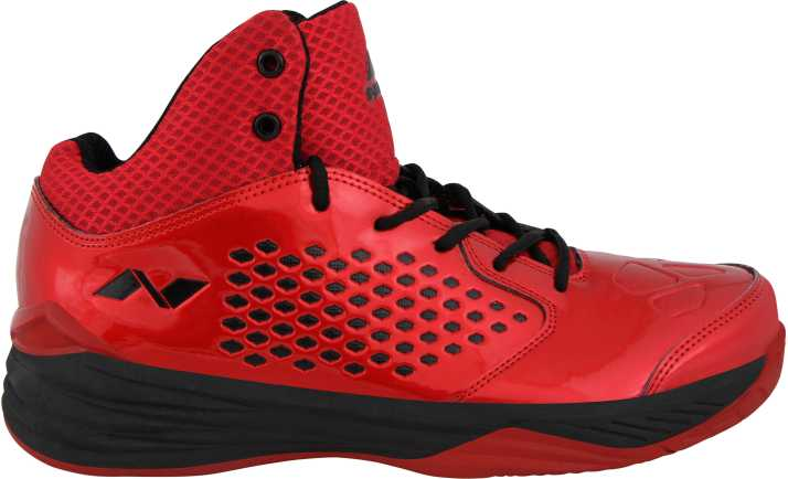 2d8043016006 Nivia Warrior -1 Basketball Shoes For Men - Buy Red Color Nivia ...