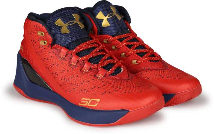 e09b81a19a2 Under Armour UA CURRY 3.0 Basketball Shoes For Men - Buy RED GOLD ...