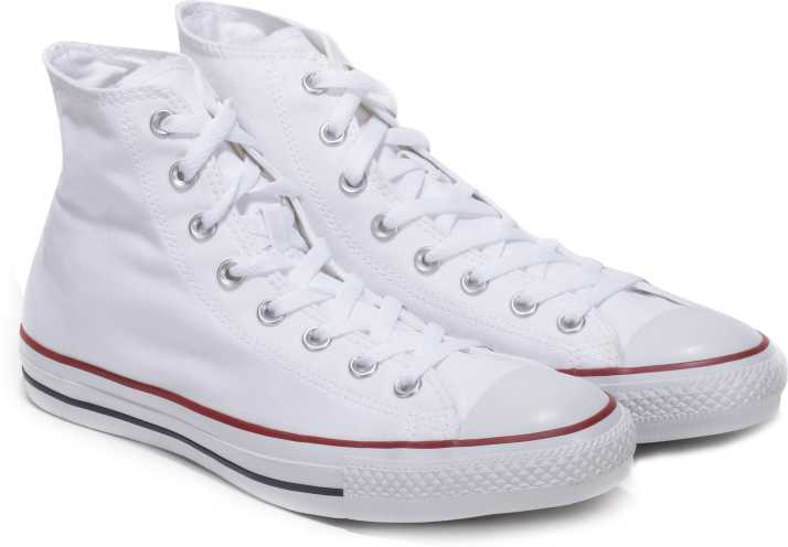 5f6053b0af11a0 Converse High Ankle Sneakers For Men - Buy OPTICAL WHITE Color ...