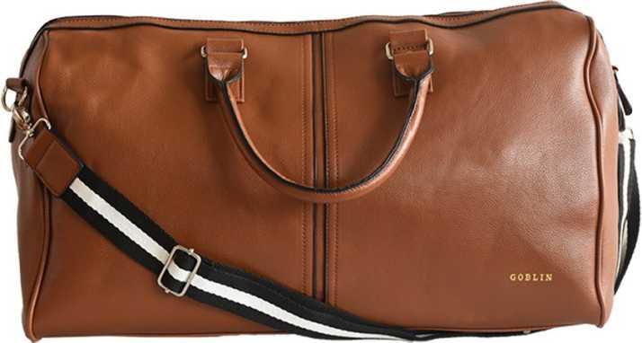f38f3b6684 Goblin Supreme Duffle Bag Travel Duffel Bag Brown - Price in India ...