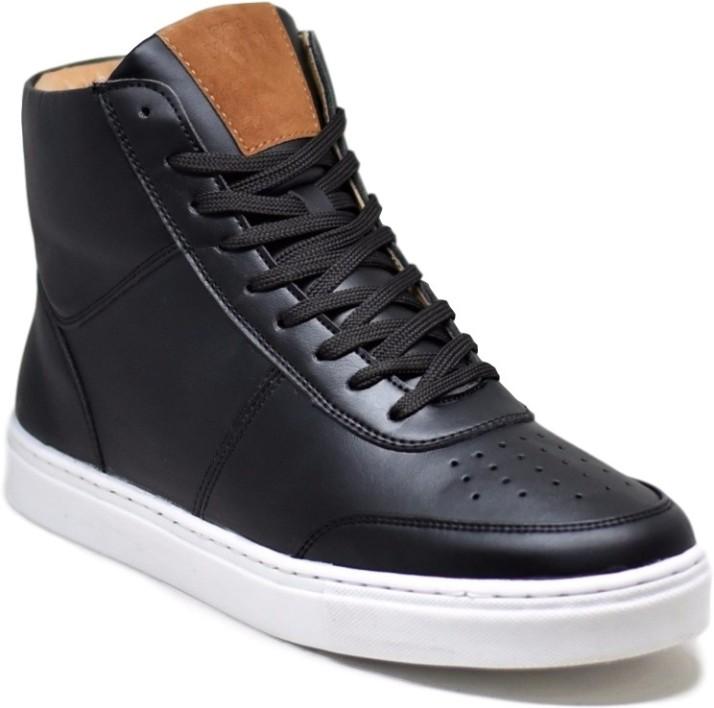 DOC Martin Cliff Black Sneakers For Men