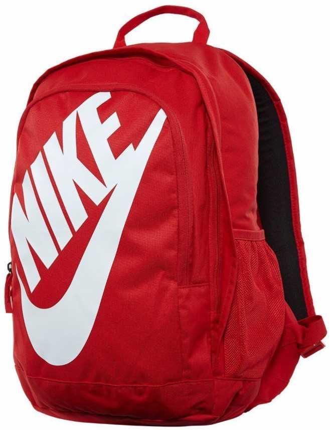 techo Peluquero Pesimista  Nike Hayward Futura 24 L Laptop Backpack Red - Price in India | Flipkart.com