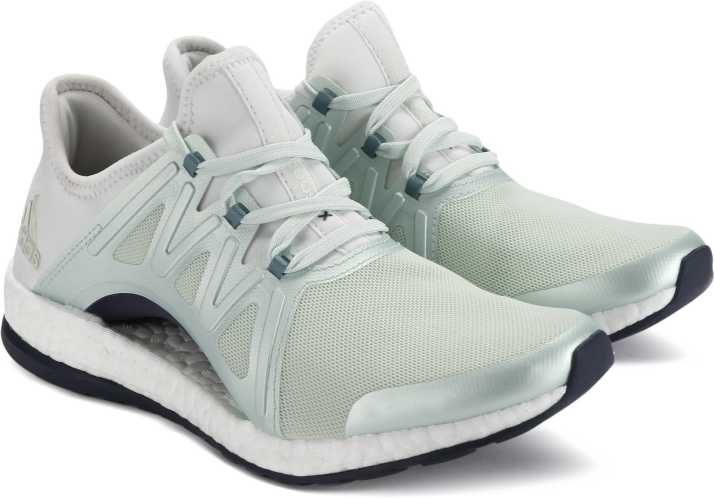 the best attitude 1a23d d4d02 ADIDAS PUREBOOST XPOSE Running shoes For Women (White, Green)