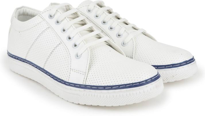 Blue Color Provogue Sneakers For Men