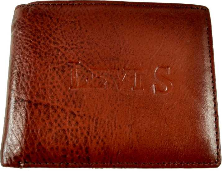 f6cf0c54662b86 Levi Men Casual, Formal Brown Genuine Leather Wallet Brown - Price ...