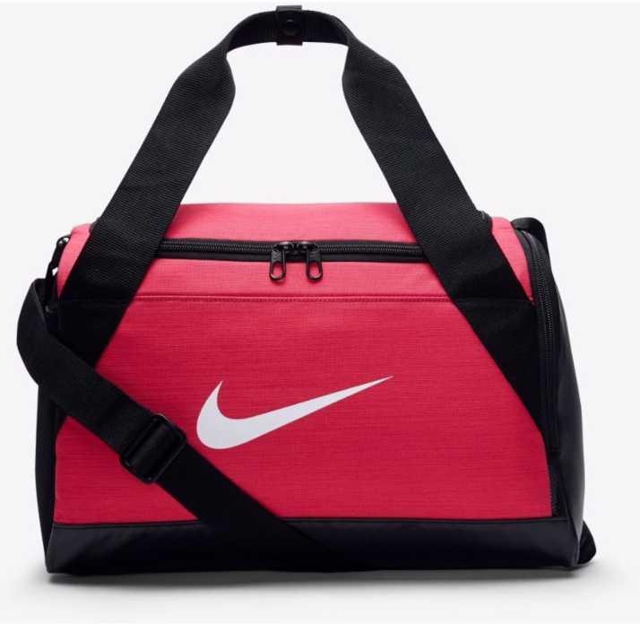 saltar asustado mermelada  Nike BRASILIA XS Travel Duffel Bag Pink, Black - Price in India |  Flipkart.com