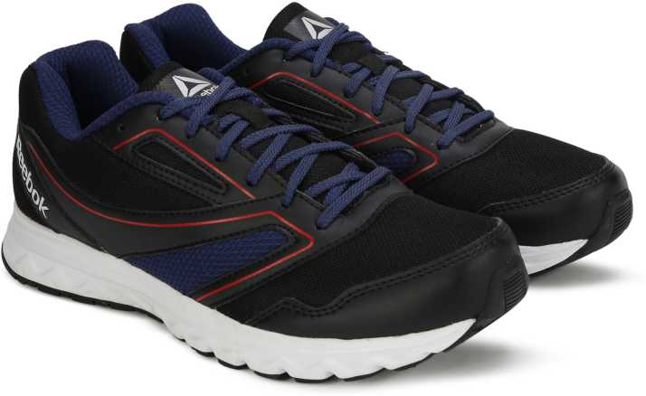 40a06bfb733 REEBOK EXPLORE RUN Running Shoes For Men - Buy BLACK BLUE RED SLVR ...