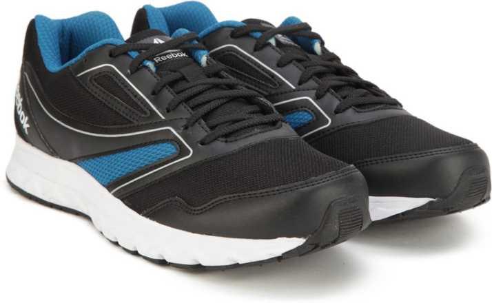 c0c8e14f6b6f REEBOK EXPLORE RUN Running Shoes For Men - Buy BLACK CYCLE BLUE ...