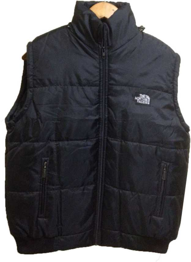 e25a5eddb North Face Sleeveless Solid Men Jacket