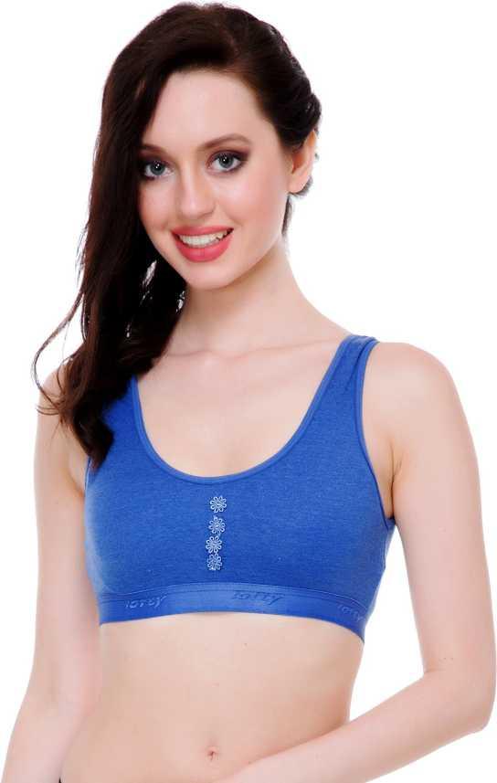 bbbddd9c93 FIMS Celebrity Style Fashion Sports BLUE Bra Girls