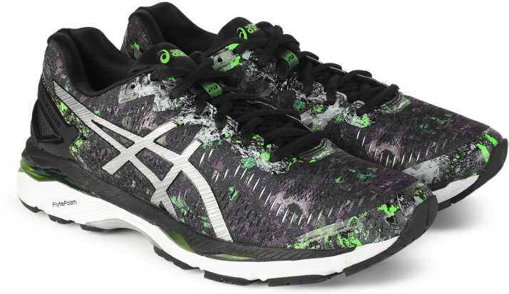 best loved 5dcd6 c5648 Asics GEL - KAYANO 23 LE Running Shoes For Men - Buy BLK/SR ...
