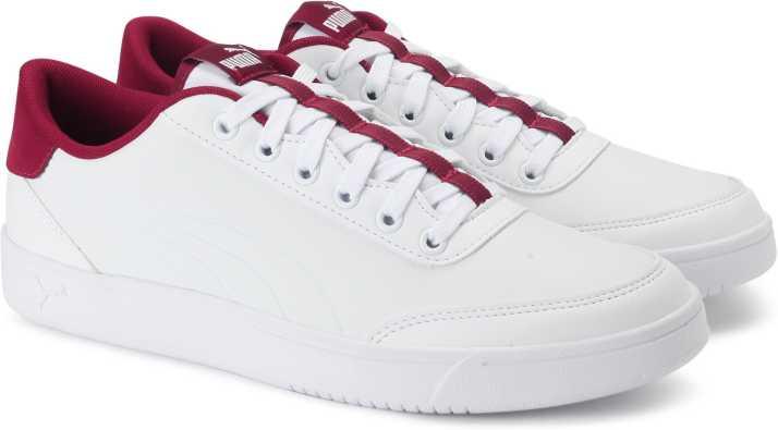 b4e55fa53ce Puma Court Breaker L Sneakers For Men (White)