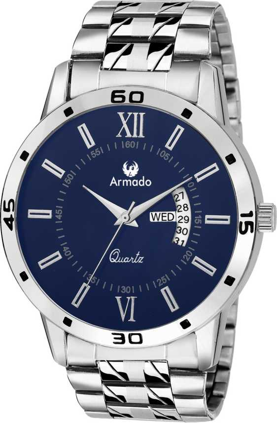 Armado AR-101-BLU Classy Date n Day Watch - For Men - Buy Armado AR ... 95355a1687
