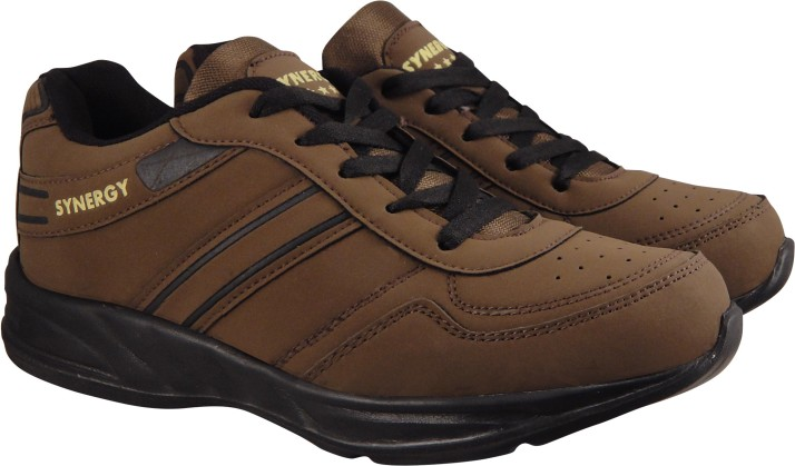 7101 Brown Sports Running Shoes For Men