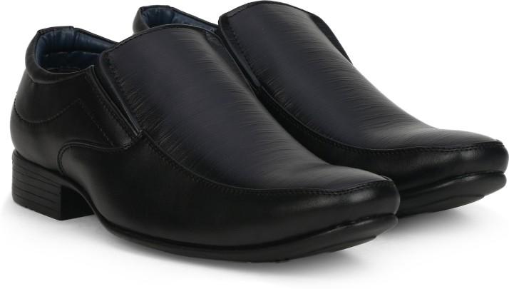 Bata KIRK Slip On For Men - Buy Black