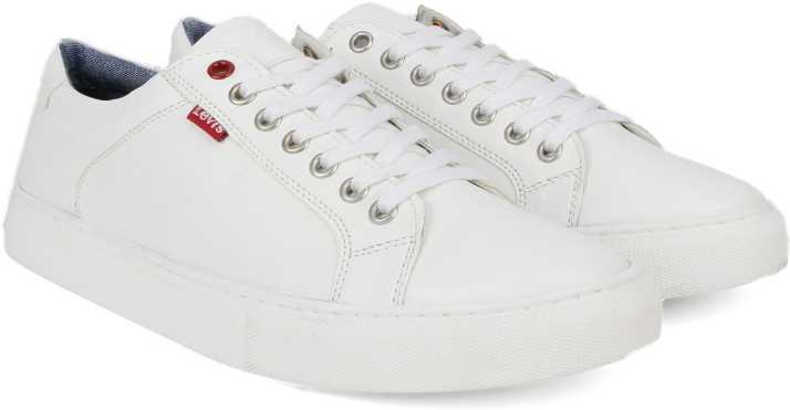 ac347d2f Levi's PRELUDE Sneakers For Men - Buy White Color Levi's PRELUDE Sneakers  For Men Online at Best Price - Shop Online for Footwears in India | Flipkart .com