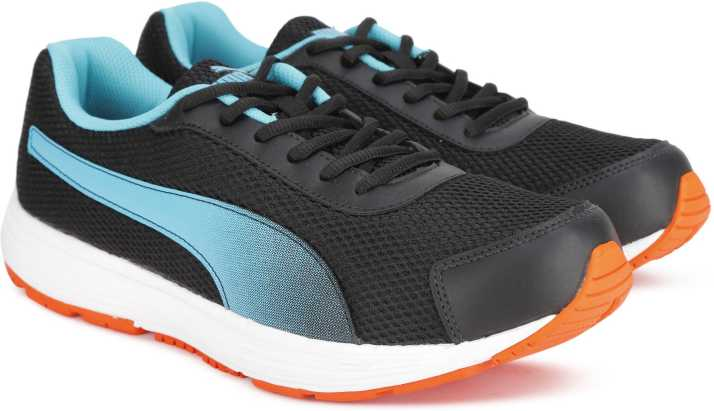 6fb407854bacd5 Puma Aeden Running Shoes For Men (Black)