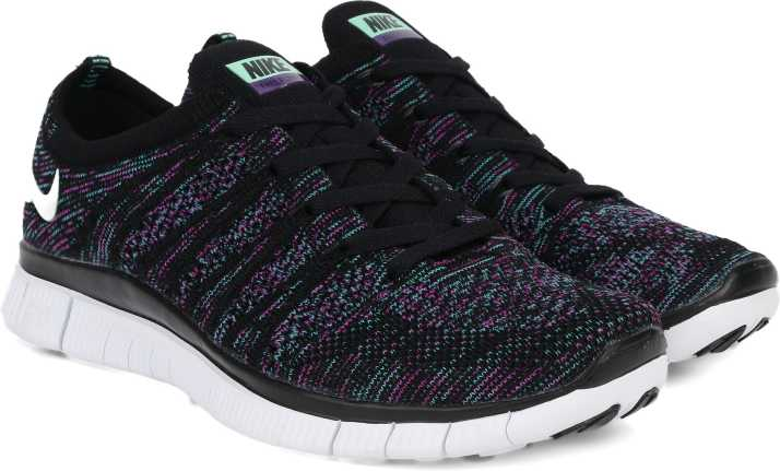 brand new 34c48 0a36a Nike FREE 5.0 FLYKNIT Running Shoes For Men (Multicolor)