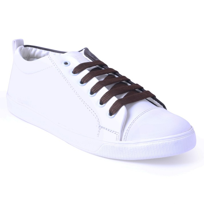 pery-pao White Shoes Casuals For Men