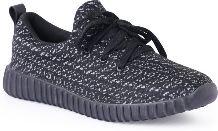Shoe Fellow Mens Black Casual Shoes