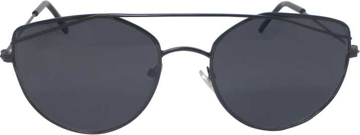 20bd7d20b92 Buy Eagle Round Sunglasses Black For Men   Women Online   Best Prices in  India