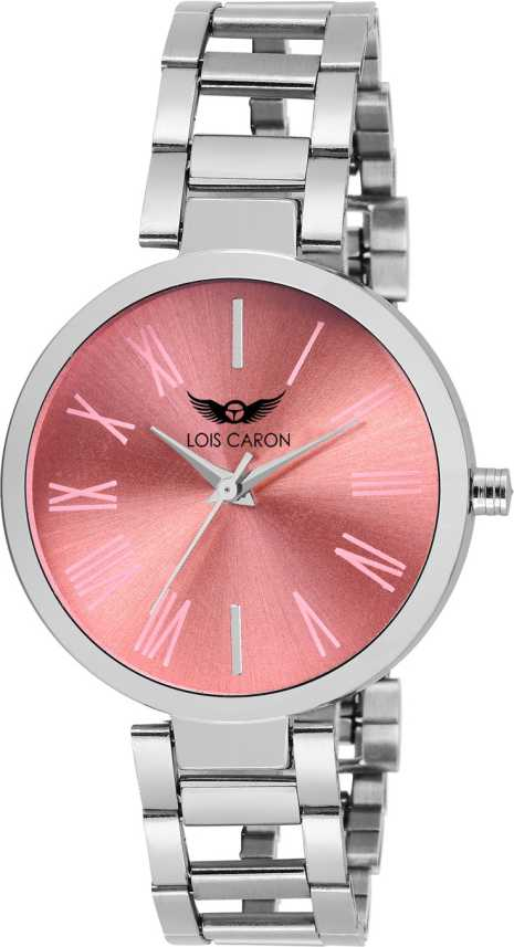 8cfbc59eb5a Lois Caron LCS-4632 PINK DIAL Watch - For Girls - Buy Lois Caron LCS-4632  PINK DIAL Watch - For Girls LCS-4632 Online at Best Prices in India