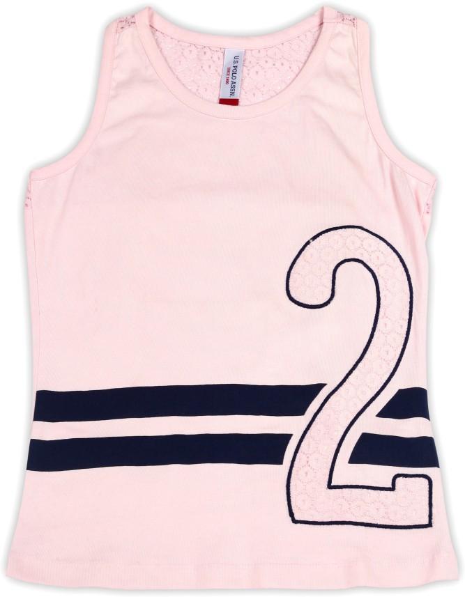 U.S Girls T Tank Shirt Pack Polo Assn