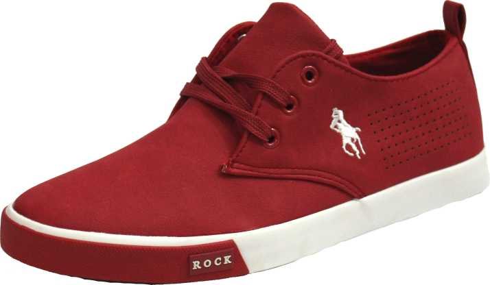 9b558a65c66717 Rock Shoes Men s Red Sneakers For Men - Buy Rock Shoes Men s Red ...