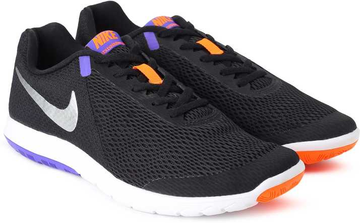 humedad Gángster dialecto  Nike FLEX EXPERIENCE RN 6 Running Shoes For Men - Buy BLACK/CHROME-PERSIAN  VIOLET-TOTAL ORANGE Color Nike FLEX EXPERIENCE RN 6 Running Shoes For Men  Online at Best Price - Shop Online for