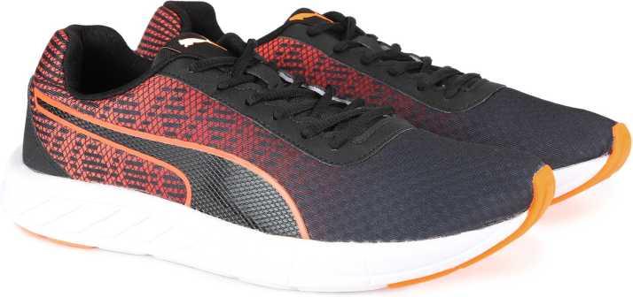 8c8a5756db8b1c Puma Meteor 2 Running Shoes For Men - Buy Puma BlackShocking Orange ...