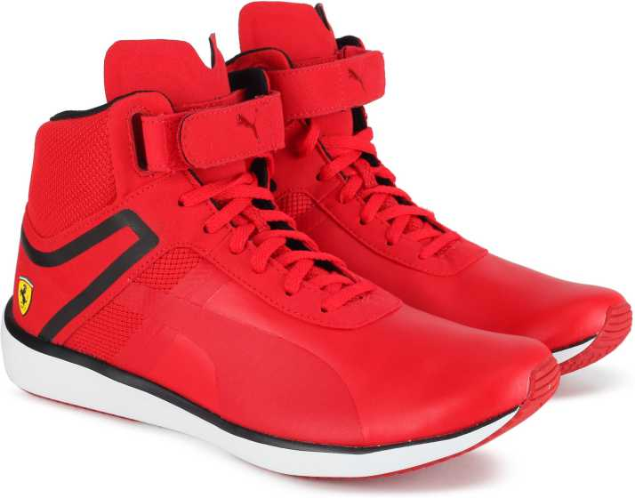 1dd54a16c8d1 Puma Ferrari F116 Skin Mid SF Sneakers For Men - Buy Rosso Corsa ...