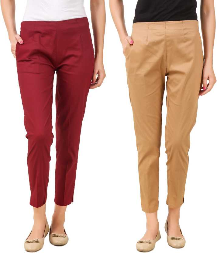 Q Rious Regular Fit Women Maroon Beige Trousers Buy Q Rious Regular Fit Women Maroon Beige Trousers Online At Best Prices In India Flipkart Com Find your correct size in the chart below. q rious regular fit women maroon beige trousers