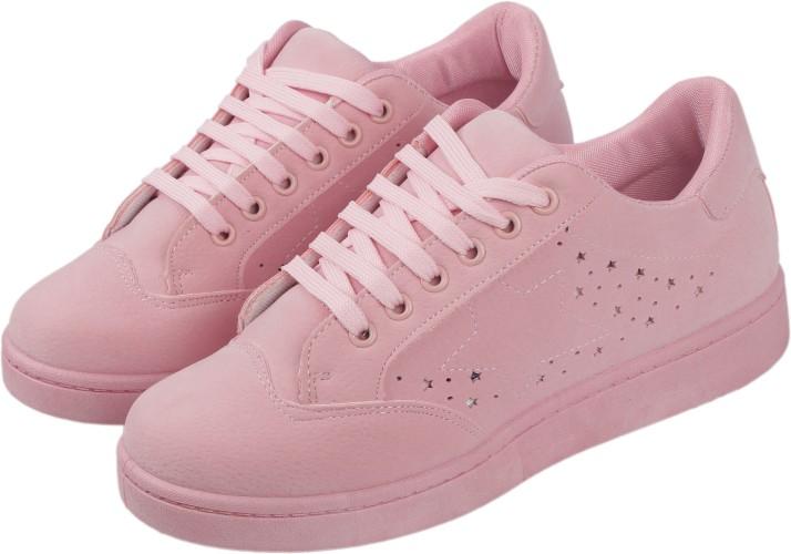 Irsoe CASSIEY Pink Outdoor Shoe,Pink