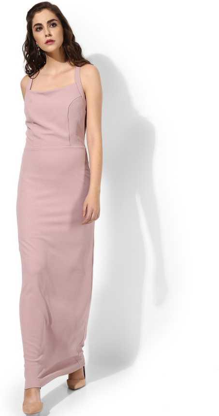 63246781da4 Kazo Women Maxi Pink Dress - Buy Kazo Women Maxi Pink Dress Online at Best  Prices in India