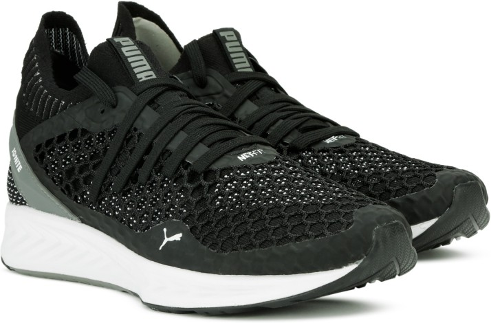 puma ignite netfit black