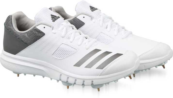 2db2c1d7b68 ADIDAS HOWZAT SPIKE Cricket Shoes For Men - Buy FTWWHT NGTMET GRETWO ...