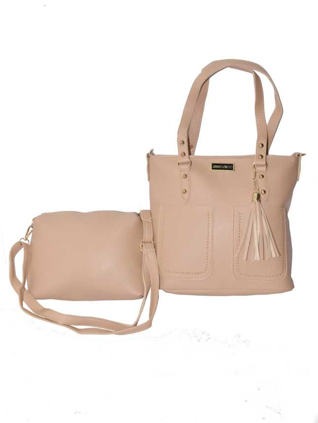 f2987bfff1d8 Buy Jimmy Choo Shoulder Bag Beige Online   Best Price in India ...