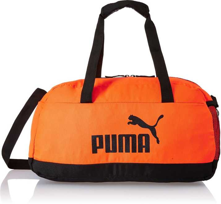 4b460320b Puma PUMA Phase Sport Bag Gym Bag Shocking Orange-Puma Black - Price ...