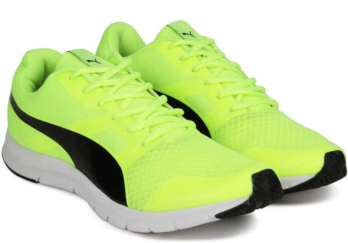 373667bb65f3 Puma Flexracer DP Sneakers For Men - Buy Safety Yellow-Puma Black ...