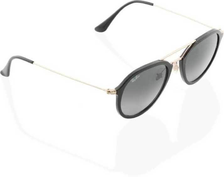 a6eb6e432d Buy Ray-Ban Aviator Sunglasses Grey For Men   Women Online   Best ...