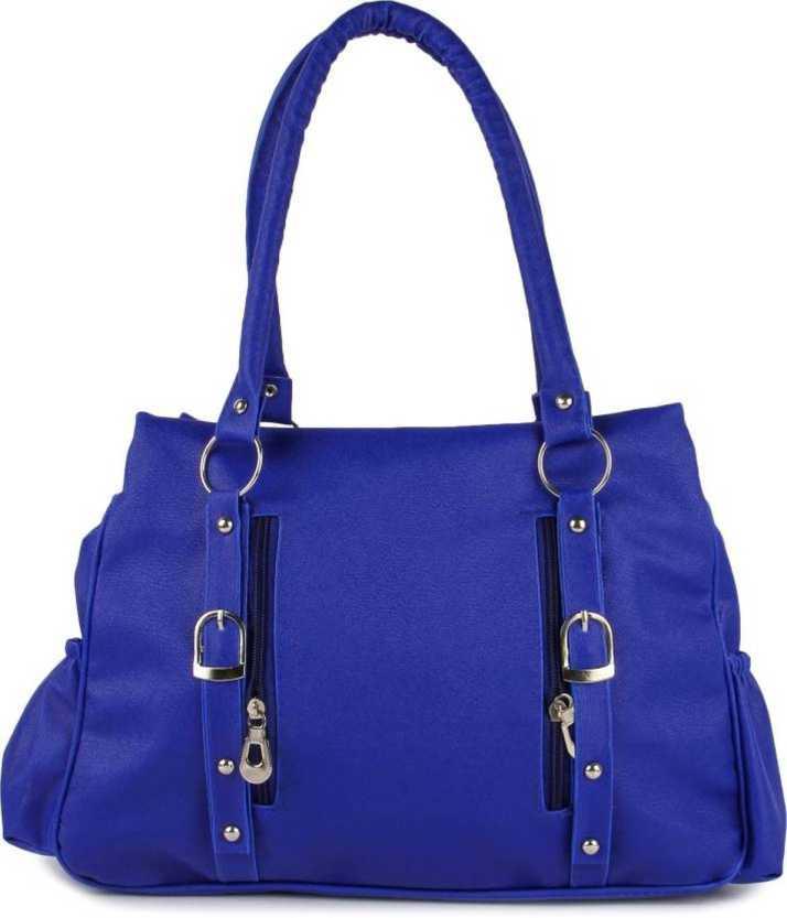 Mk Purse S Blue Hand Held Bag