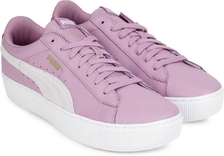 Puma Puma Vikky Platform L Sneakers For Women - Buy Smoky Grape-Puma ... e2dd80336