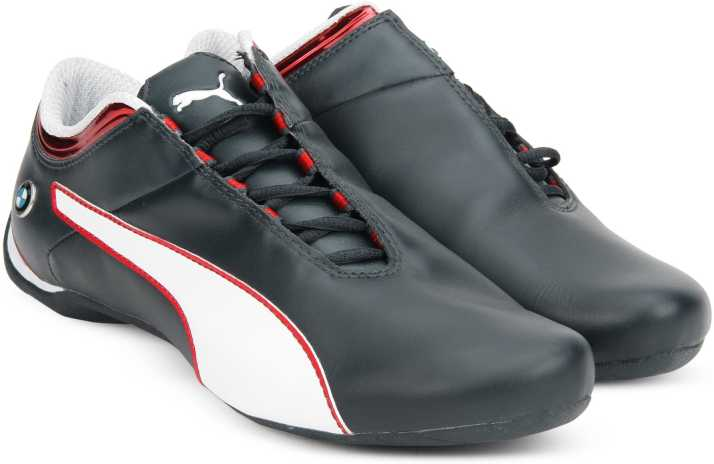 100% Ori PUMA shoes Future Cat Leather SF BMW Shoes blue