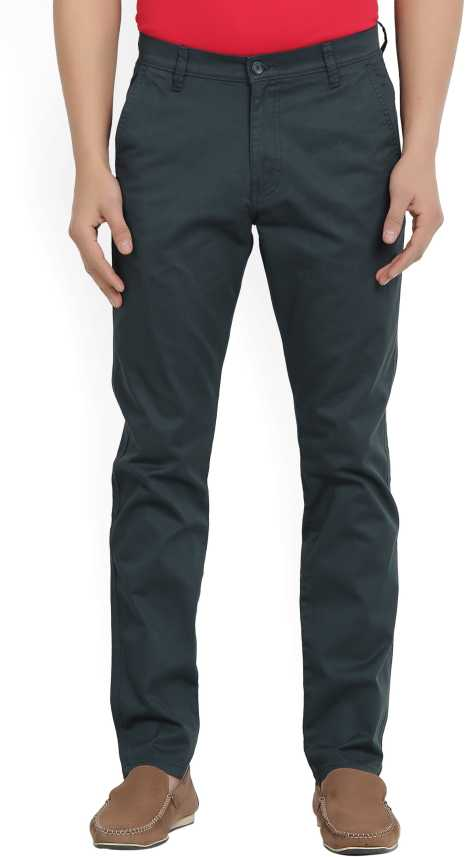 fbb402f5ceb Highlander Regular Fit Men Dark Blue Trousers - Buy NAVY BLUE Highlander  Regular Fit Men Dark Blue Trousers Online at Best Prices in India