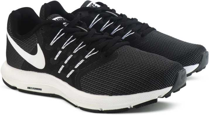05ff8726f9ad Nike RUN SWIFT Running Shoes For Men - Buy BLACK WHITE-DARK GREY ...