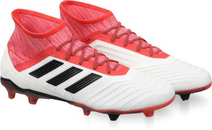 bb1b1216f81d ADIDAS PREDATOR 18.2 FG Football Shoes For Men - Buy FTWWHT CBLACK ...