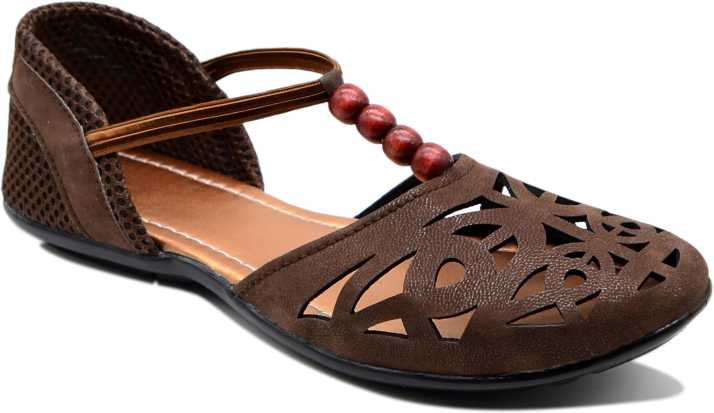 Myra Women Rich Brown Flats - Buy Rich Brown Color Myra Women Rich ...